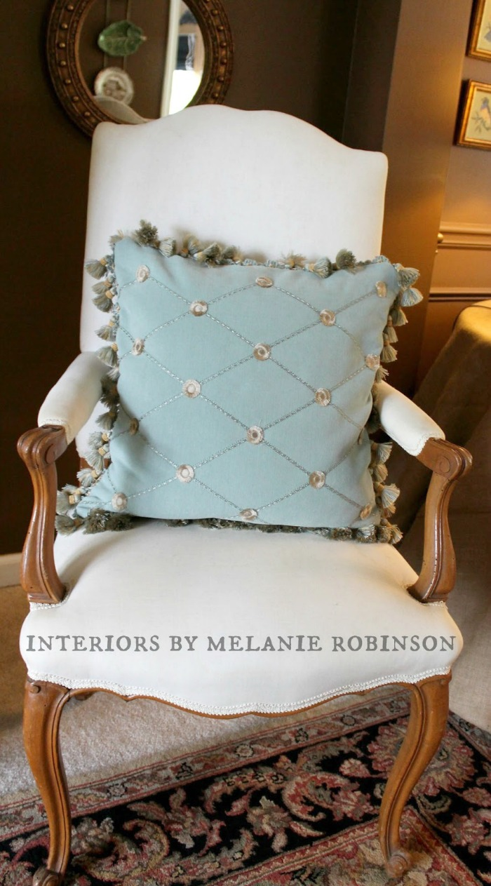 How To Make A Throw Pillow With Fringe