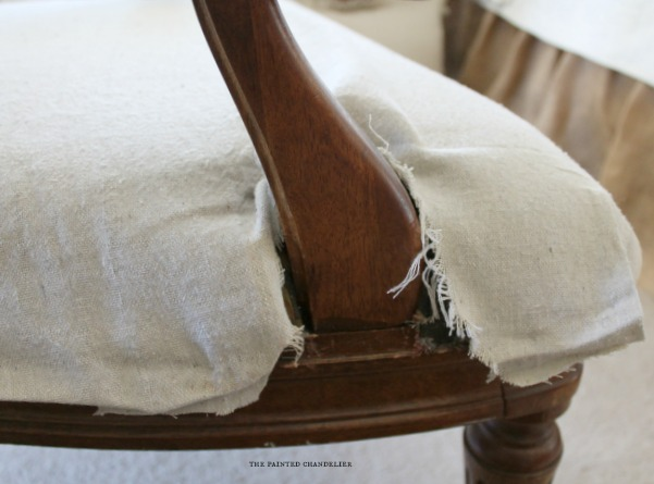 How To Reupholster A French Armchair