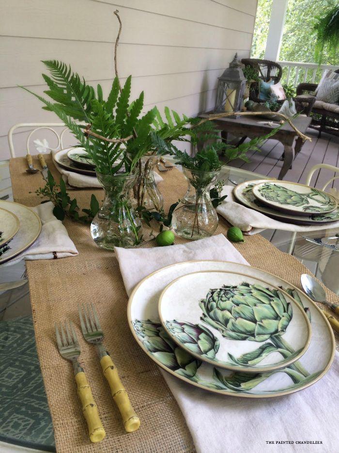 artichoke-plates-williams-sonoma-ferns-iphone